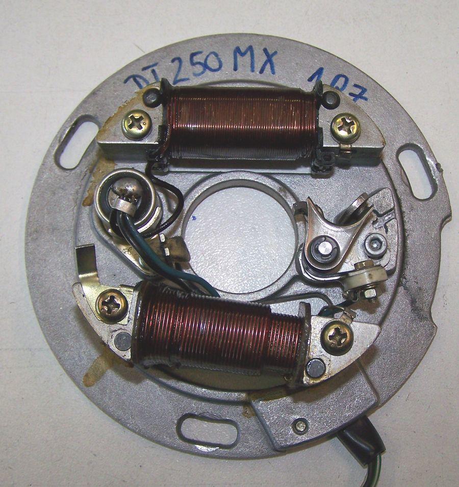 Hole Mm on 1979 Yamaha Stator Ignition